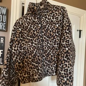 Cozy Animal Print Sweater. by- AE